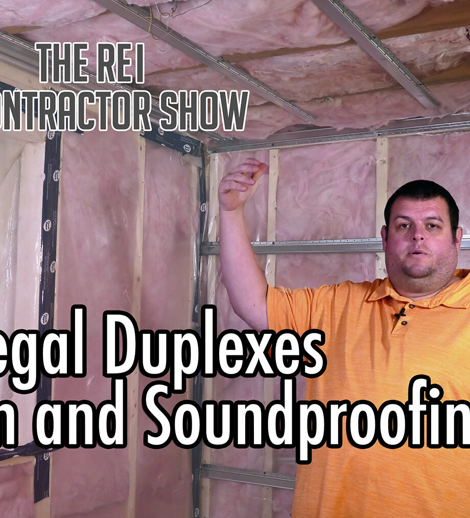 insulation and soundproofing methods by the REI Contractor